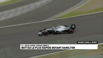 Bottas le plus rapide devant Hamilton