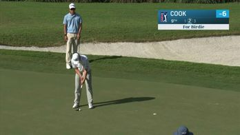 Cook et Gooch en tête à Houston