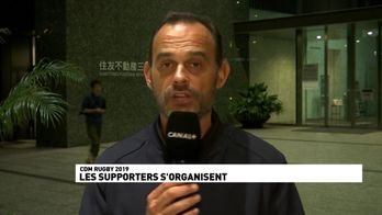 Au Japon, les supporters s'organisent