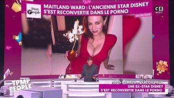 Une ancienne star de Disney, Maitland Ward reconvertie dans le porno
