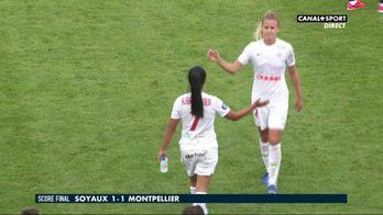 Le résumé de Soyaux / Montpellier