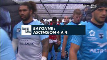 Le résumé de Bayonne / Montpellier