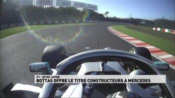 Bottas offre le titre constructeur à Mercedes