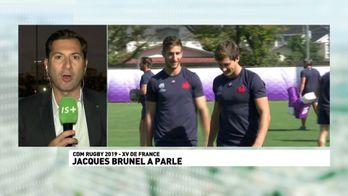 Jacques Brunel a parlé