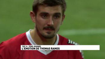 L'émotion de Thomas Ramos