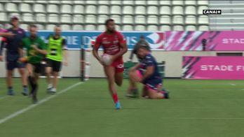 Toulon recolle au score avec cet essai de Smaili