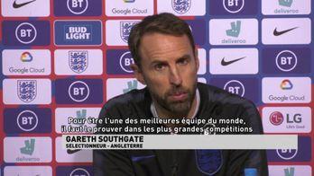 Southgate à propos de l'équipe d'Angleterre