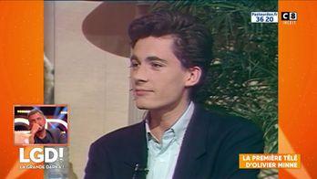 La première apparition télé d'Olivier Minne