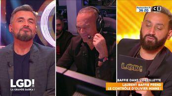 Laurent Baffie prend le contrôle d'Olivier Minne