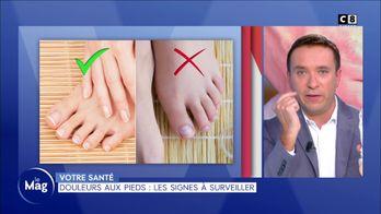 Douleurs aux pieds : les signes à surveiller