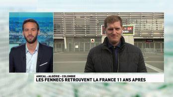 Les Fennecs retrouvent la France 11 ans après