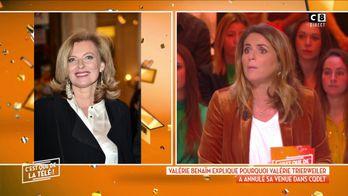 """Pourquoi Valérie Trierweiler a annulé sa venue dans l'émission """"C'est que de la télé"""""""