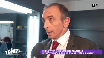 Les réponses d'Eric Zemmour face aux nombreuses réactions sur son arrivée sur CNews