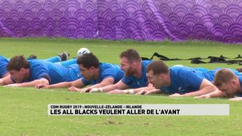 Les All Blacks veulent aller de l'avant