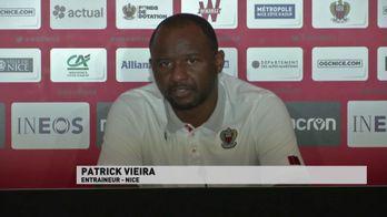 """P. Vieira : """"Il y aura des coups à jouer"""""""