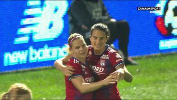 Eugénie Le Sommer signe le but du break pour Lyon