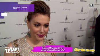 """Alyssa Milano, l'actrice de la série """"Charmed"""" affirme avoir été victime de viol avec un acteur"""