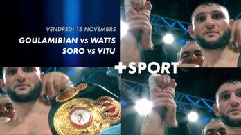 Grande soirée boxe le 15 novembre
