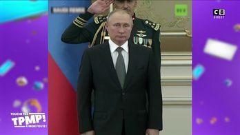 Le petit tour du PAF : Quand une fanfare massacre l'hymne national russe devant Vladimir Poutine