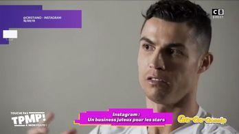 Cristiano Ronaldo gagne 43 millions d'euros grâce à des posts Instagram