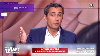 Olivier Galzi compare le voile à un uniforme SS : Le journaliste a été recadré par LCI