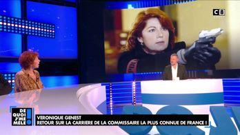 """Véronique Genest revient sur l'interruption de la série """"Julie Lescaut"""" et sa prise de poids"""