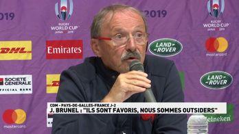 """Jacques Brunel : """"Les Gallois favoris, nous outsiders"""""""