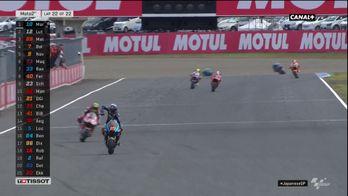 Luca Marini l'emporte en Moto 2