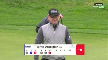 Birdie pour Jamie Donaldson