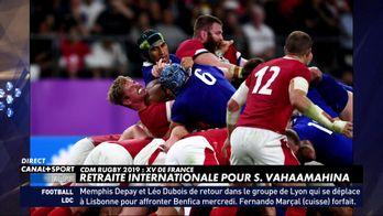 """La retraite pour Sébastien Vahaamahina après son """"coude folie"""""""