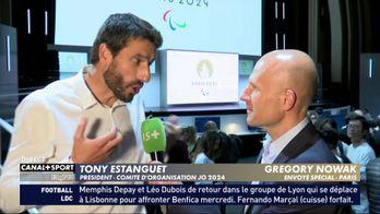 Tony Estanguet évoque le nouveau logo Paris2024