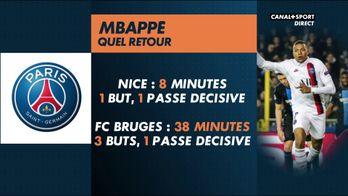 Contre Bruges, Mbappé a tout dynamité