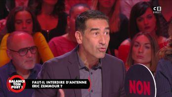 """Karim Zeribi : """"Eric Zemmour souhaite la fragmentation de notre pays"""""""