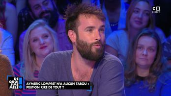 """Aymeric Lompret, humoriste : """"Je n'ai aucune limite dans l'humour"""""""