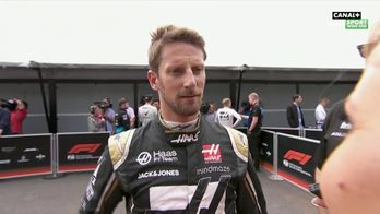 La réaction sans langue de bois de Romain Grosjean