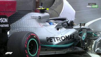 La pole pour Verstappen après ce crash de Bottas