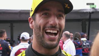Réaction de Ricciardo