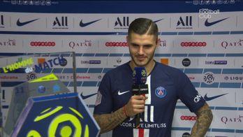 """Icardi : """"Le PSG est la meilleure équipe dans laquelle j'ai joué"""""""