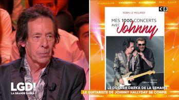 Le guitariste de Johnny Hallyday se confie