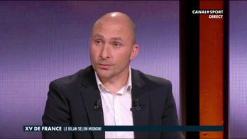 Pierre Mignoni sur le XV De France