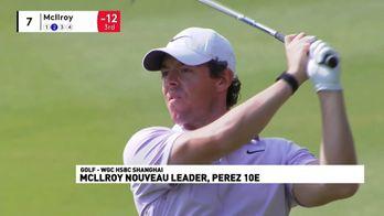 Rory McIlroy nouveau leader, Perez 10ème
