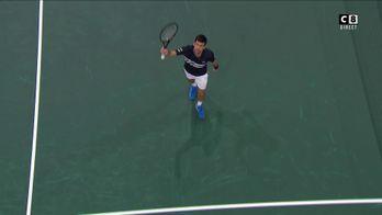 Implacable, Djokovic se qualifie pour la finale