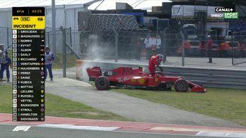 Charles Leclerc a un problème moteur