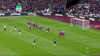 Le résumé de West Ham / Newcastle