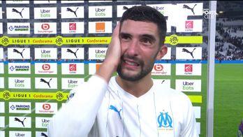 La réaction d'Alvaro Gonzalez après OM/Lille