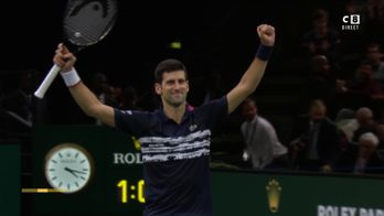 Novak Djokovic remporte son 5ème titre à Bercy !