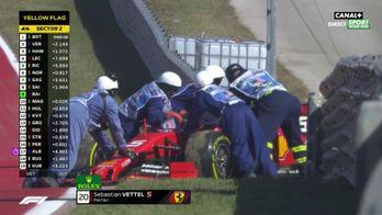 Vettel abandonne !