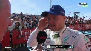 """Bottas : """"Je me sentais très bien dans la voiture"""""""
