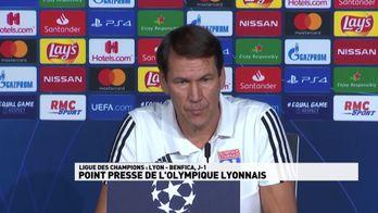 Point presse Olympique Lyonnais