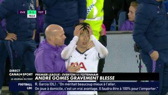 Andre Gomes gravement blessé
